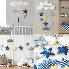 Kids Room Decoration Clouds Astronaut Diy Handmade Wall Hanger Baby Girl Gift Bedroom Nursery Children Room Decor Family Games Baby Rattles Mobiles Aliexpress