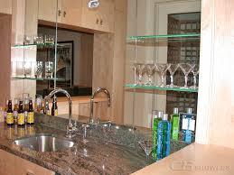 shelf and c b shower in san carlo glass