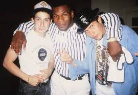 Beastie Boys and Mike Tyson (Ad-Rock repping AppState) : appstate