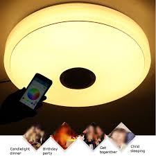 led ceiling lights rgb dimmable 6w