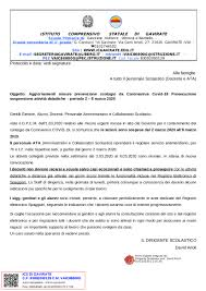 Avviso – Aggiornamento misure Corona Virus – Proroga sospensione ...