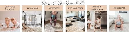 Famokids Baby Play Mat Stylish Non Toxic Foam Mats For Kids