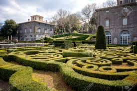 Bagnaia: Villa Lante At Bagnaia Is A Mannerist Garden Of Surprise,.. Stock  Photo, Picture And Royalty Free Image. Image 114451967.