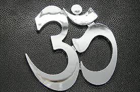 Ohm Om Symbol 3d Emblem Sticker Decal Badge For Cars Yoga Hinduism Namaste Ebay