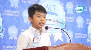Speech by Kuoch Someth, ACE Children Program Student - YouTube