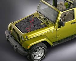 Product Jeep Wrangler Blackout Black Map Adventure Trip Vinyl Hood Decal Tj Lj Jk Unlimited