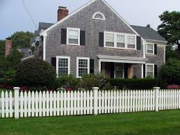 Plymouth Spaced Picket Fence Cape Cod Fence Company