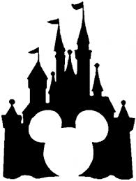 Cinderella Castle Mickey Mouse Disney Parody Car Or Truck Window Decal Sticker Or Wall Art All Time Auto Graphics
