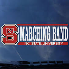 Nc State Bookstores Decal Logo S Marching Band