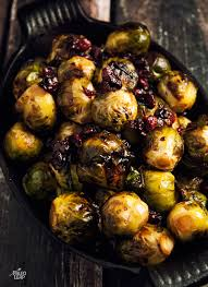brussel sprouts with balsamic and