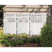 Suncast Classic 44 In Resin Screen Enclosure Fs4423d At The Home Depot Outdoor Screens Privacy Screen Outdoor Outdoor Privacy