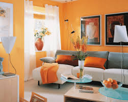 what color curtains go with orange