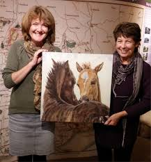 New Forest artist Sandy Poynter named Public's favourite   The New Forest  and Waterside Hampshire UK Blog