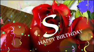 s letter birthday whatsapp status