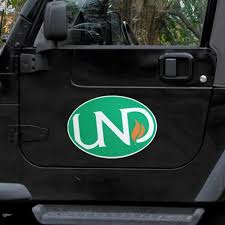 North Dakota Auto Magnets University Of North Dakota Car Magnet Magnets Fanatics