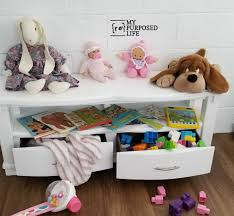 Children S Bench With Storage My Repurposed Life Rescue Re Imagine Repeat
