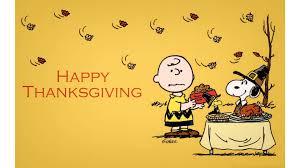 a charlie brown thanksgiving wallpaper