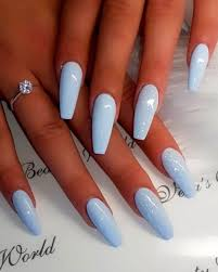 The Best Coffin Nails Ideas That Suit Everyone Dlugie Paznokcie