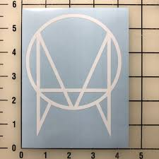 Owsla Logo 5 Tall White Vinyl Decal Sticker Free Shipping For Sale Online