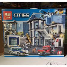 Mẫu Lắp Ráp Lego police Trạm Cảnh Sát Thành Phố (CÓ SẴN) Lepin ...