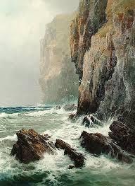 Image result for arthur reginald smith artist   Surf painting ...