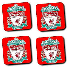 liverpool fc lfc coasters football