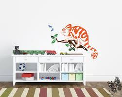 Kids Wall Sticker Chameleon Vinyl Decal Playroom Bedroom Children Df44