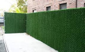 Artificial Grass Fence Artificial Grass Wall Chain Link Fence Supplier