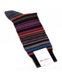 Robert Graham XL Navy Brack Socks - Hensley's Big and Tall