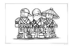 Ninjago #22 (Cartoons) – Printable coloring pages