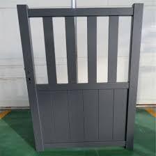 China Aluminum Slat Fence Metal Fence Door Steel Gate Walk Door Driveway Gate China Driveway Door Walkway Gate