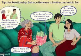 healthy relationships between mothers