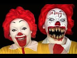 ronald mcdonald clown makeup tutorial