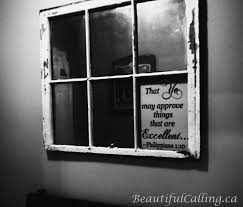 how to make an old window into a mirror