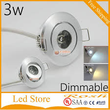 cabinet spotlight 1w 90lm 60degree
