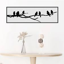 Black Birds Tree Branch 30 90cm Wall Stickers Home Decor Living Room Office Pvc Decorative Accessories Wall Decals Diy Mural Art Wall Stickers Aliexpress