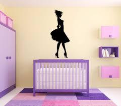 Amazon Com Vinyl Sticker Princess Silhouette Pretty Girl Dress Hills Dancer Fairy Tale Girls Room Poster Mural Decal Wall Art Decor Sa2619 Handmade