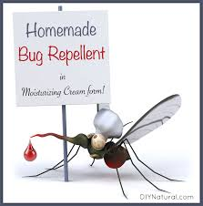 mosquito repellent cream homemade