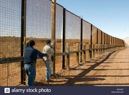 Welders Repair The Pedestrian Border Fence With Mexico Az Stock Photo Alamy