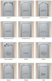 marvelous frosted glass pantry door