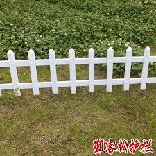 flower garden fence green pvc fence