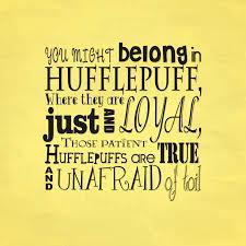 hufflepuff quotes quotesgram