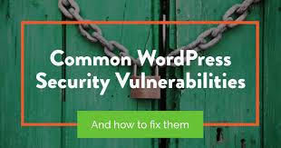 7 wordpress security vulnerabilities