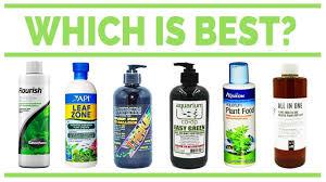 liquid fertilizer for aquarium plants