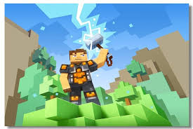Buy Generic Custom Canvas Wall Mural Game Minecraft Poster Minecraft Wallpaper Minecraft Wall Stickers Kids Room Decoration Christmas 0051 Photographic Paper 80x120cm Online At Low Prices In India Amazon In