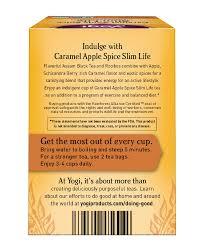 yogi caramel apple e slim life