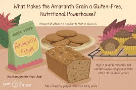 amaranth in your gluten free recipes