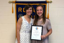Abby Davis Selected as Rotary Student of the Semester - Prince ...