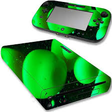 Vwaq Wii U Green Skins Nintendo Lava Lamp Wii U Decal Sticker Cover Vwaq Wgc10 Video Game Walmart Com Walmart Com