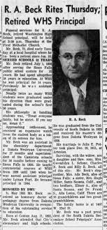 Ray Alfred Beck Obituary - Newspapers.com